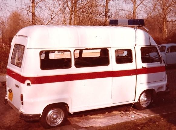 Renaultbusje aanschaf eind 1978